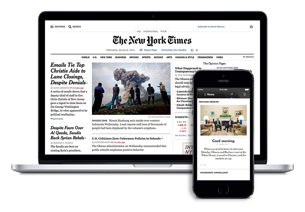 The promise of NYT Now | beyond the times